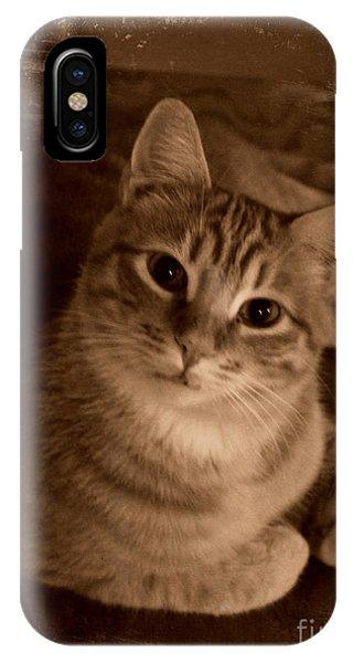 Something Orange IPhone Case