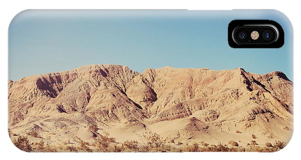 Desert iPhone Case - Sometimes I See So Clearly by Laurie Search