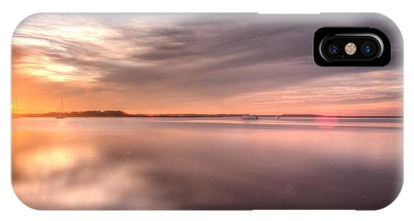 Somewhere Between That Setting Sun IPhone Case