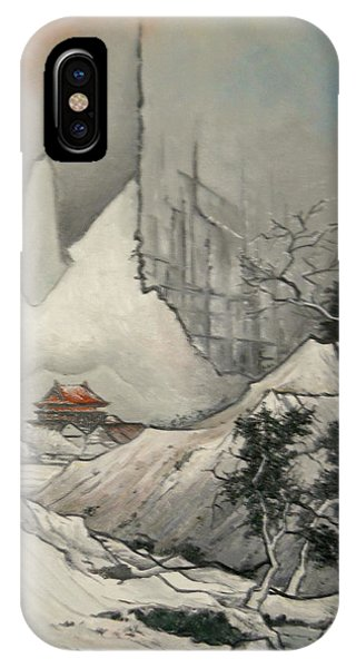 Somewhere In Japan IPhone Case