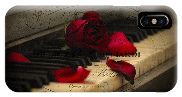 Sonata In Roses IPhone Case