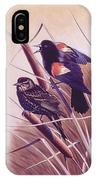 Song Of The Marsh IPhone Case
