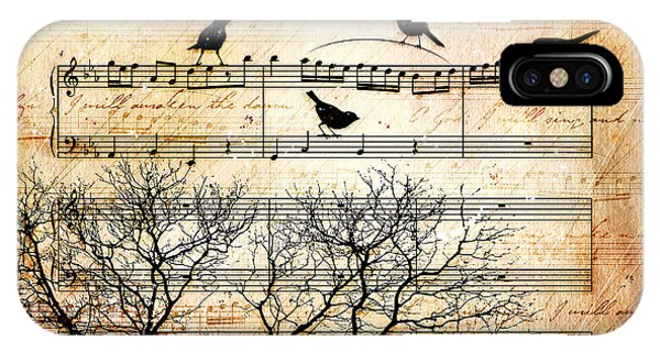 Worship iPhone Case - Songbirds by Gary Bodnar