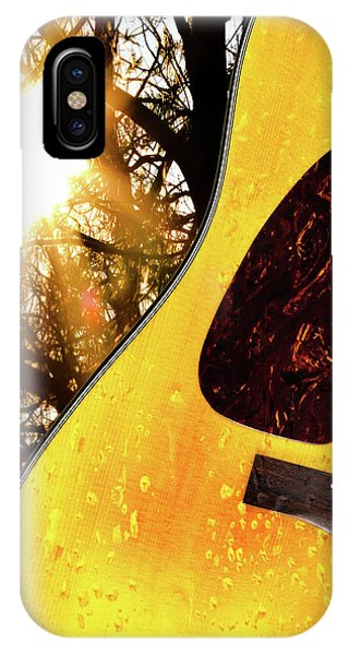 Left iPhone Case - Songs From The Wood by Bob Orsillo