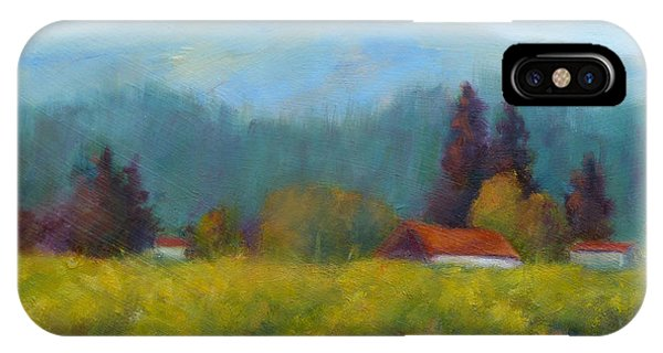 Sonoma Valley View IPhone Case