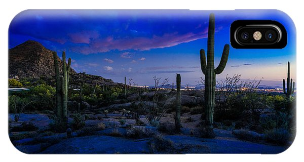 Sonoran Desert Saguaro Cactus IPhone Case