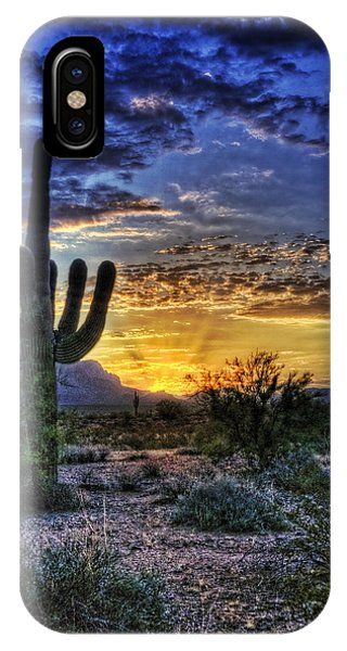 Sonoran Sunrise  IPhone Case