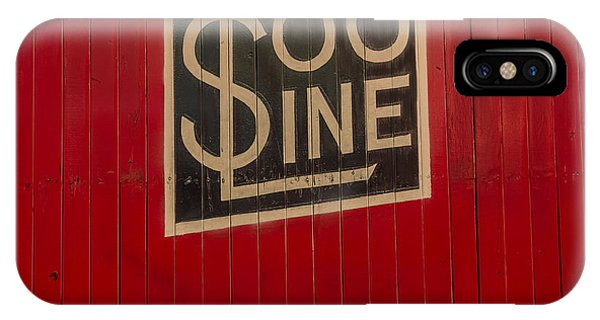 Soo Line Box Car IPhone Case