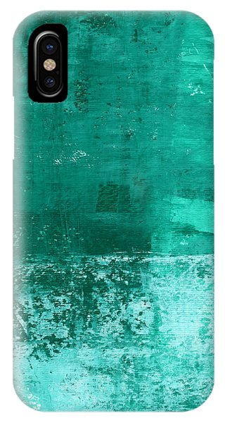 Gallery Wall iPhone Case - Soothing Sea - Abstract Painting by Linda Woods