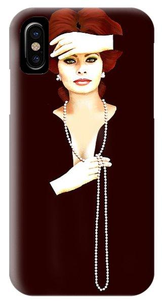 Sophia Loren 1 IPhone Case