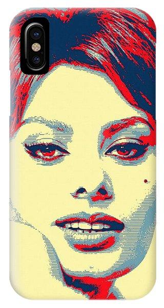 Sophia Loren Phone Case by Art Cinema Gallery