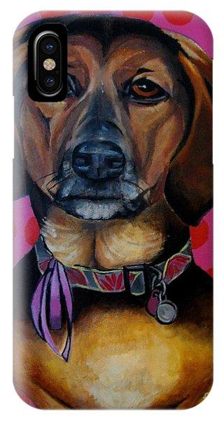 Sophia - My Rescue Dog  IPhone Case
