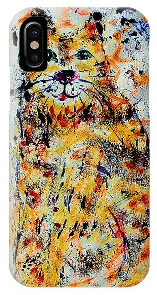 Sophisticated Cat 3 IPhone Case
