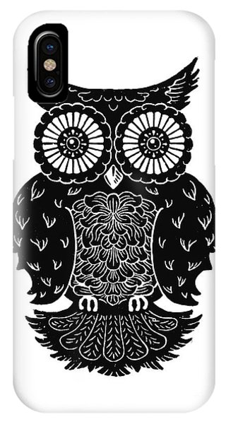 Sophisticated Owls 3 Of 4 IPhone Case