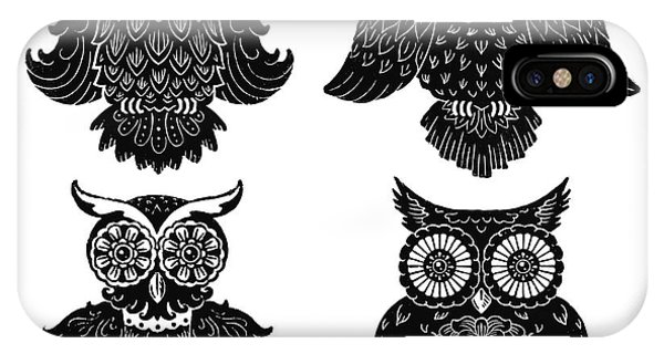 Sophisticated Owls All 4 IPhone Case