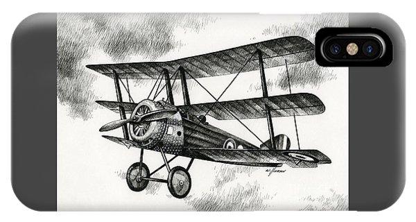 Sopwith Triplane 1917 IPhone Case