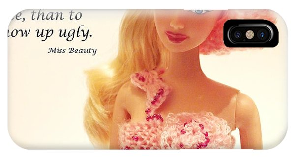 Motivational iPhone Case - Barbie Doll by Lelia Fashion