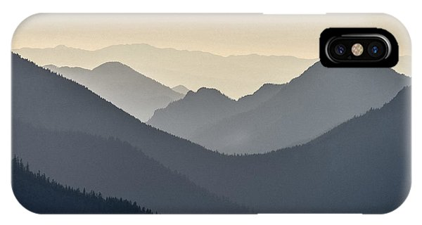 Sostice In The Olympic Mountains IPhone Case