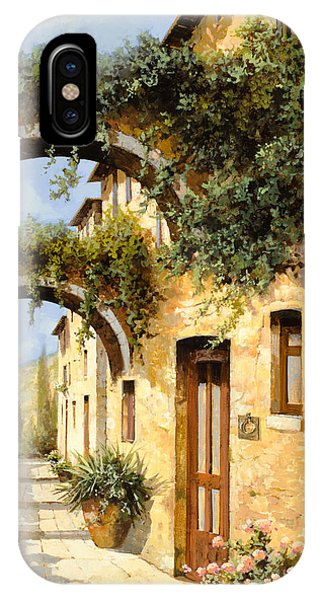 Arched iPhone Case - Sotto Gli Archi by Guido Borelli