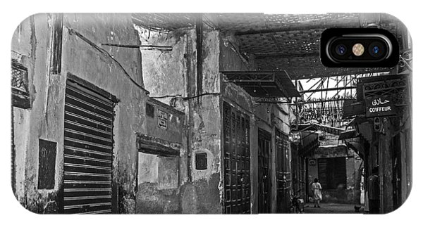 Souk Street In Marrakech IPhone Case