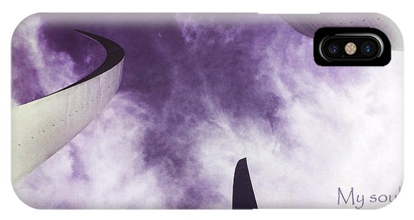 Soul In The Sky - Us Air Force Memorial IPhone Case