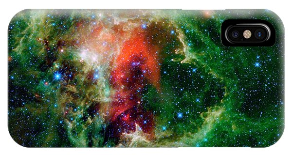 Astrophysical iPhone Case - Soul Nebula by Nasa/jpl-caltech/ucla/science Photo Library