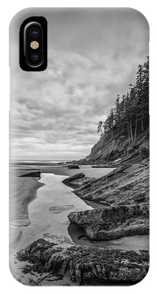 Tidal iPhone Case - Soul Without Color by Jon Glaser
