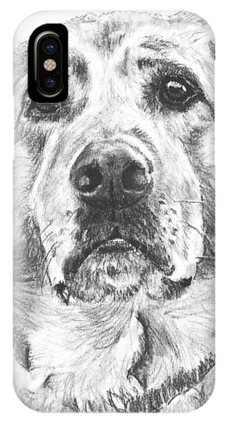 Soulful Lab Face IPhone Case