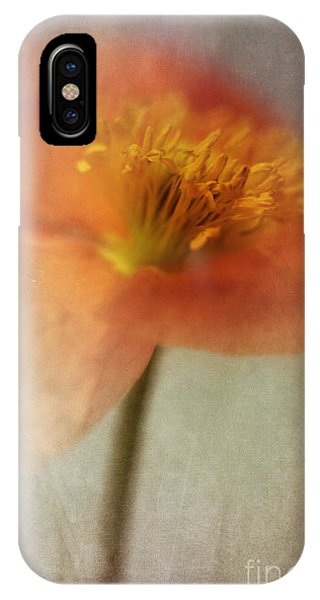 Portraits iPhone X Case - Soulful Poppy by Priska Wettstein