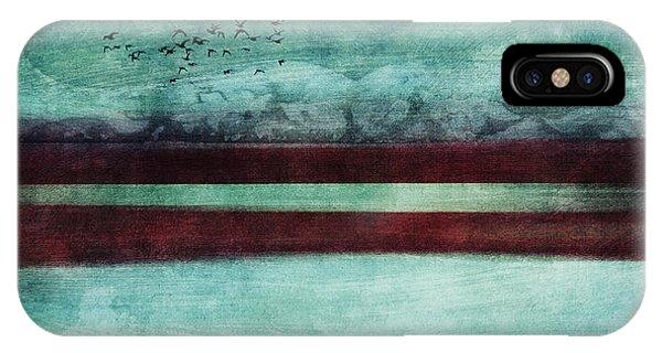 Teal iPhone Case - Soulscape by Priska Wettstein