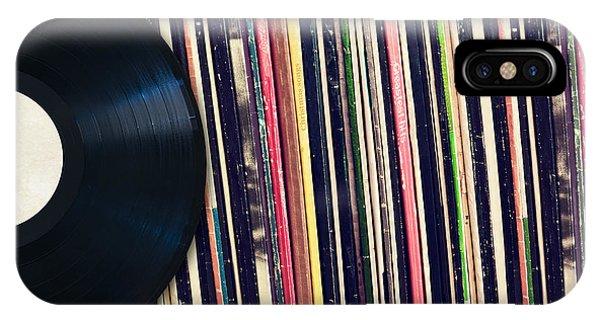 Sound Of Vinyl IPhone Case