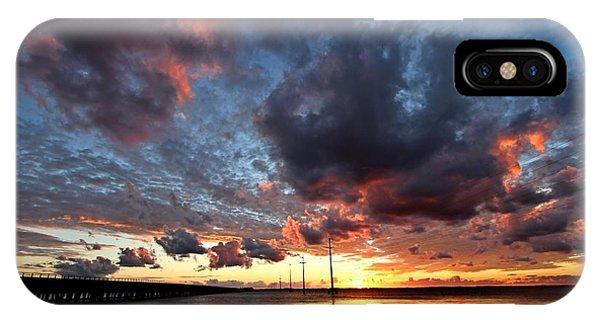 Sound Sunset Phone Case by Stephanie Tomlinson