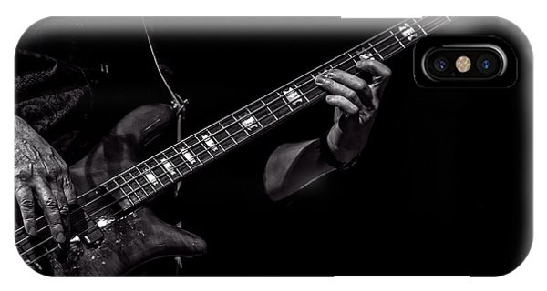 IPhone Case featuring the photograph Sounds In The Night Bass Man by Bob Orsillo