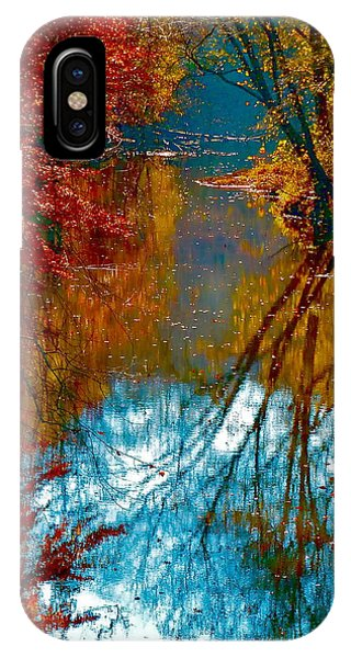 South Anna River Reflections IPhone Case