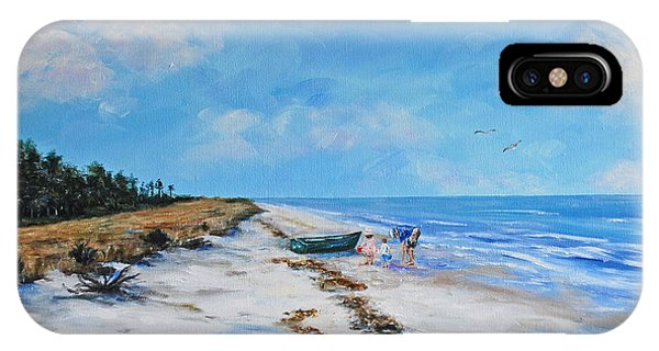 South Beach  Hilton Head Island IPhone Case