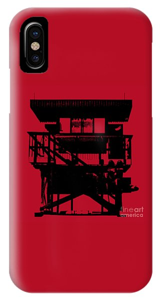 South Beach Lifeguard Stand IPhone Case
