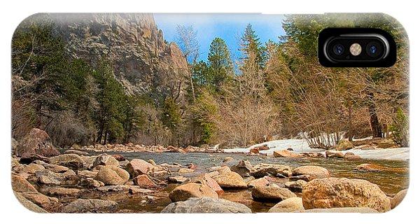 South Boulder Creek - Eldorado Canyon State Park IPhone Case
