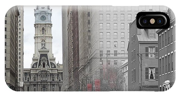 South Broad From Locust Street IPhone Case