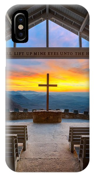 Christianity iPhone Case - South Carolina Pretty Place Chapel Sunrise Embraced by Dave Allen