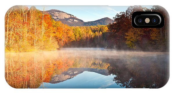 South Carolina Table Rock State Park Autumn Sunrise - Balance IPhone Case
