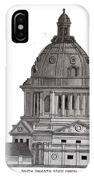 South Dakota State Capitol IPhone Case