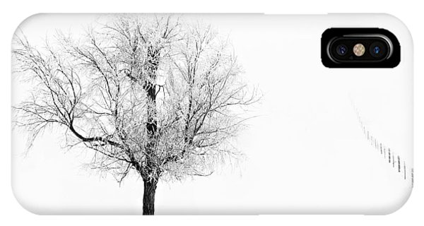 South Dakota Winter IPhone Case