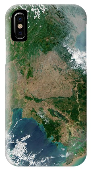 Cambodia iPhone Case - South-east Asia by Nasa/science Photo Library