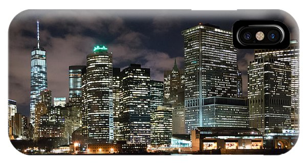 South Ferry Manhattan At Night IPhone Case