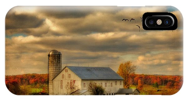 Silo iPhone Case - South For The Winter by Lois Bryan