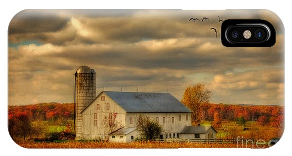 Silos iPhone Case - South For The Winter by Lois Bryan