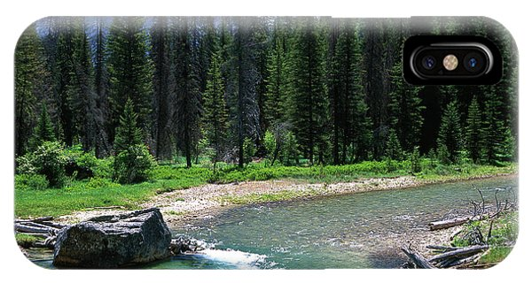 South Fork Payette River Grandjean IPhone Case