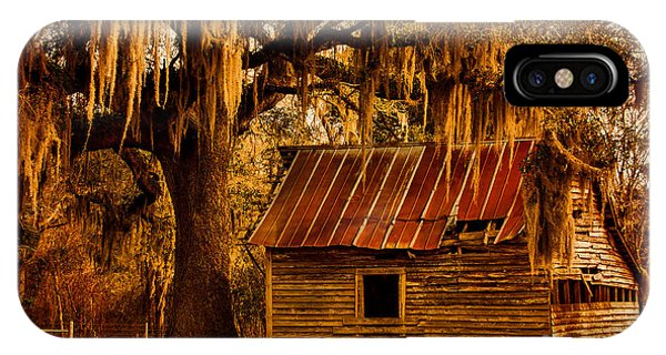 South Georgia Barn IPhone Case