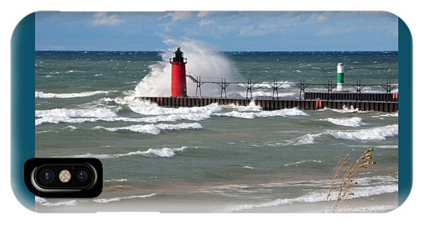 South Haven Splash IPhone Case