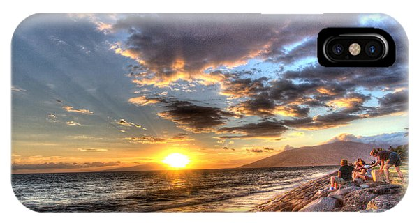 South Kihei Sunset IPhone Case